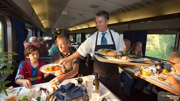 Rail Dining Car